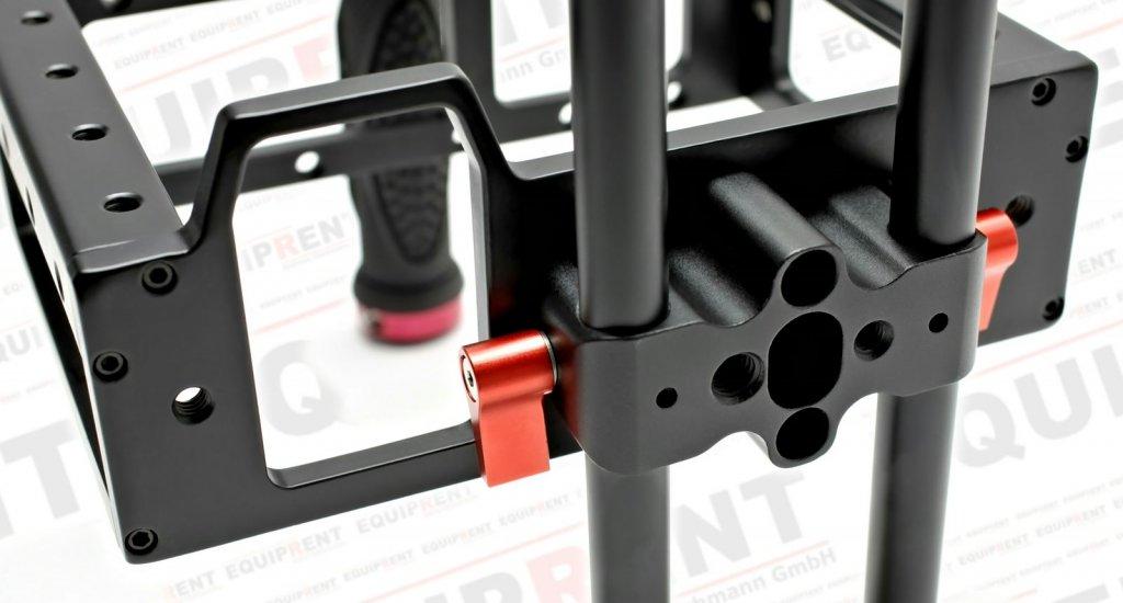 Sunrise HSR-609 DSLR Camera Cage mit 15mm Rod Support Foto Nr. 5
