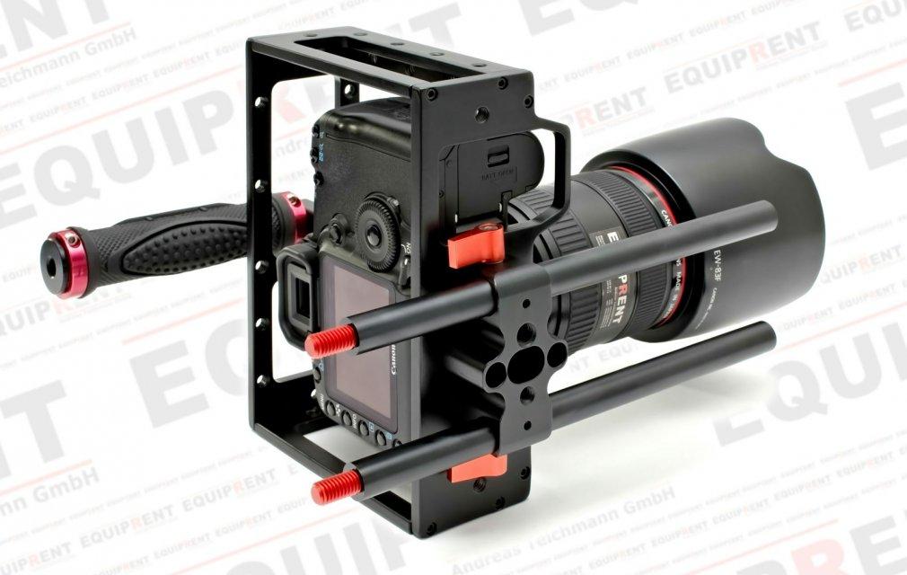 Sunrise HSR-609 DSLR Camera Cage mit 15mm Rod Support Foto Nr. 6
