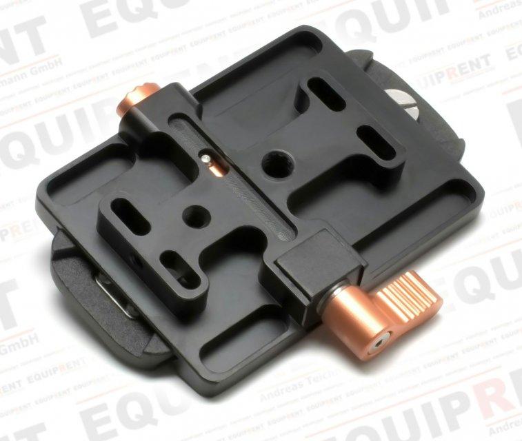 E-IMAGE Schnellwechselplatte P-6 (kompatibel mit 706x-Köpfen) Foto Nr. 1