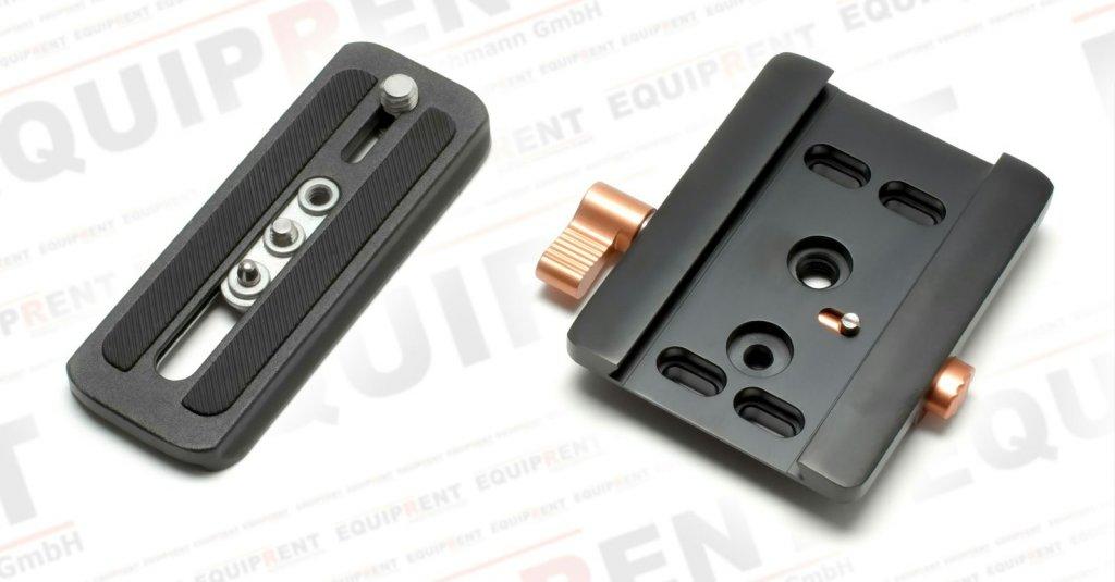 E-IMAGE Schnellwechselplatte P-6 (kompatibel mit 706x-Köpfen) Foto Nr. 2