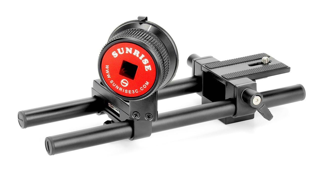 Sunrise HSR-604 Tripod Support Kit (Baseplate + Friction Follow Focus).