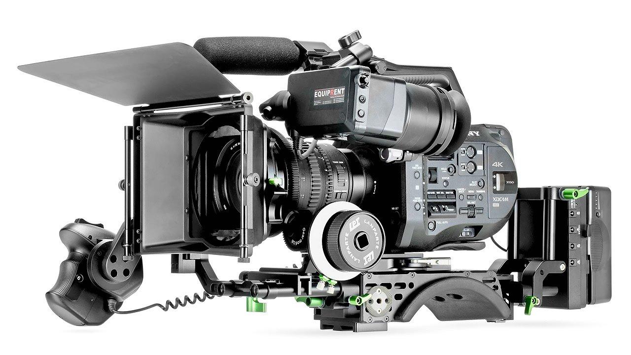 Sony FS7 mit Lanparte Schulterpolster.