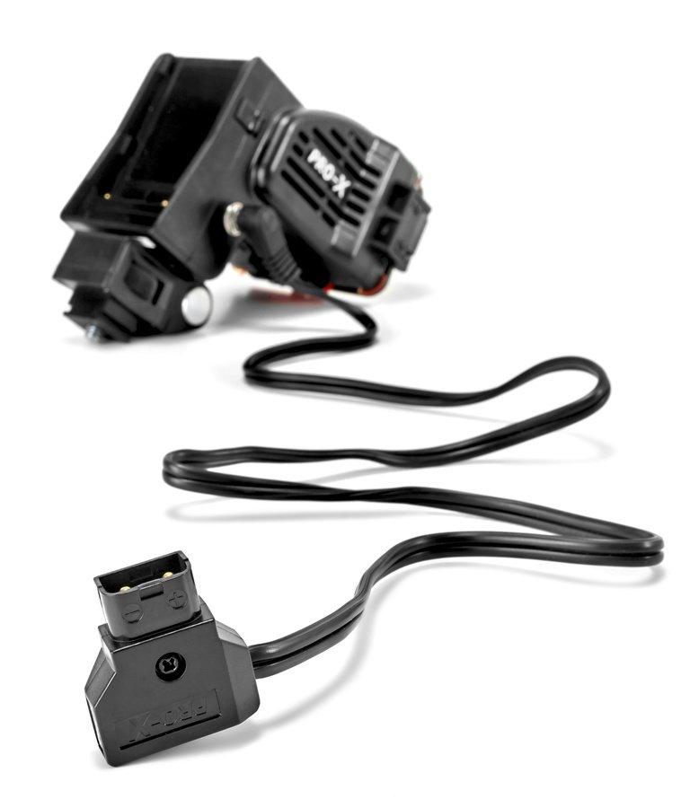 Pro-X COBRA S neigbare LED Kameraleuchte für Sony NP-F / D-Tap Foto Nr. 6