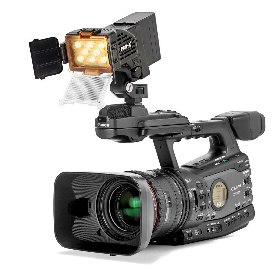 Pro-X COBRA S neigbare LED Kameraleuchte für Sony NP-F / D-Tap Foto Nr. 7