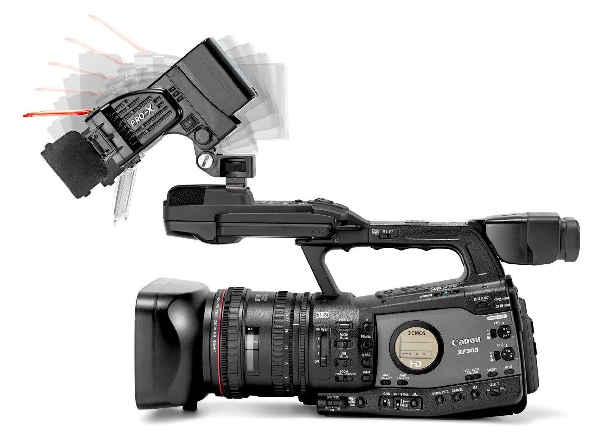 Pro-X COBRA S neigbare LED Kameraleuchte für Sony NP-F / D-Tap Foto Nr. 8