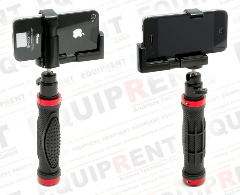 Sunrise Mobile Holder Rig / praktischer Haltegriff für Handy + Kamera.