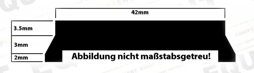 E-IMAGE Oberplatte / Ersatzstativplatte / Schnellwechselplatte P-6 Foto Nr. 5