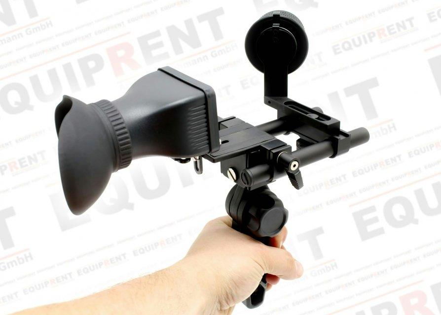 Sunrise HSR-606 Rig mit Griff + Baseplate + Follow Focus + Displaylupe Foto Nr. 1