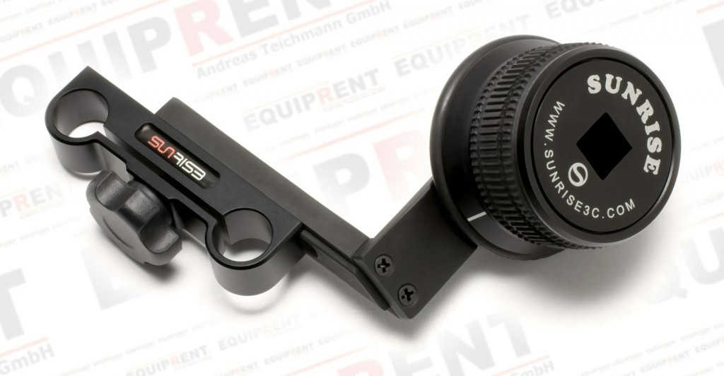 Sunrise HSR-606 Rig mit Griff + Baseplate + Follow Focus + Displaylupe Foto Nr. 5