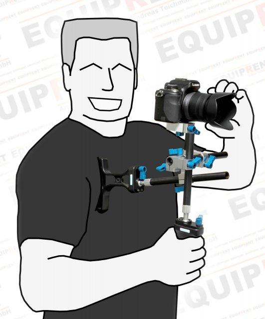 Wondlan Sniper 1.3 Kit / mini Rig für Video-DSLR (Standard Model) Foto Nr. 3