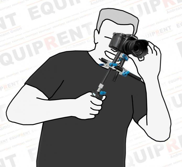 Wondlan Sniper 1.2 Kit / griffiges Rig für Video-DSLR (Handle Model) Foto Nr. 2