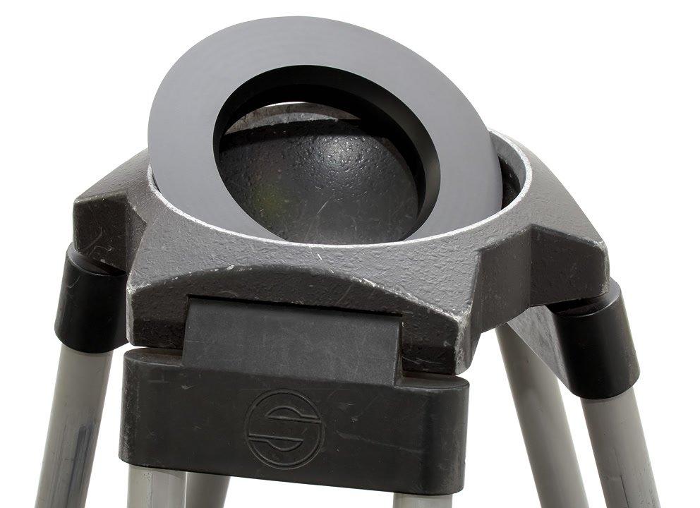 Sachtler 150mm Stativbeine mit Reduzierring.