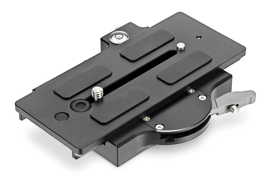 Lanparte QRP-02 Schnellwechselplatte mit Click On System.