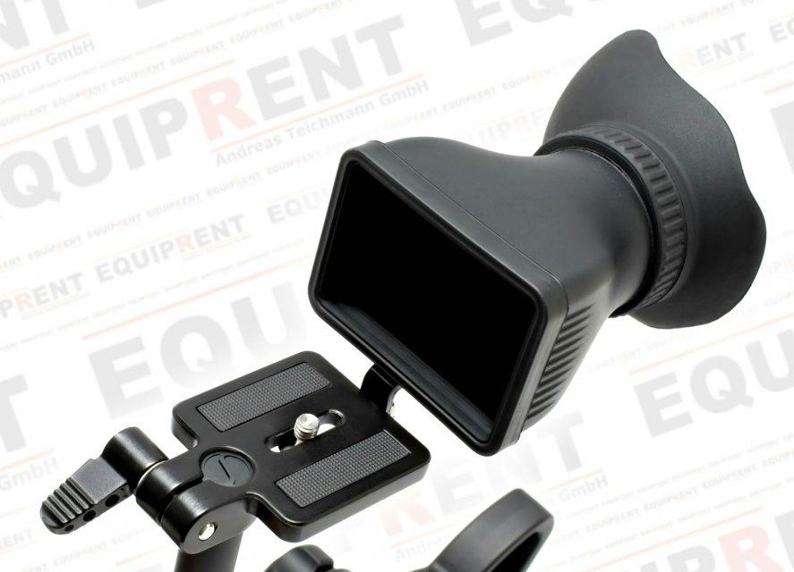 Sunrise HSR-601 kompaktes Rig mit Displaylupe und Schulterstütze Foto Nr. 5