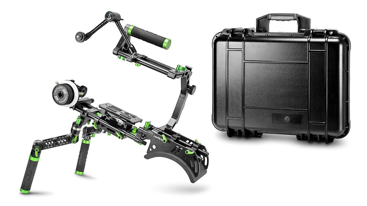 Lanparte SCR-01 Suit Case Rig / DSLR Rig mit robustem Transportkoffer.