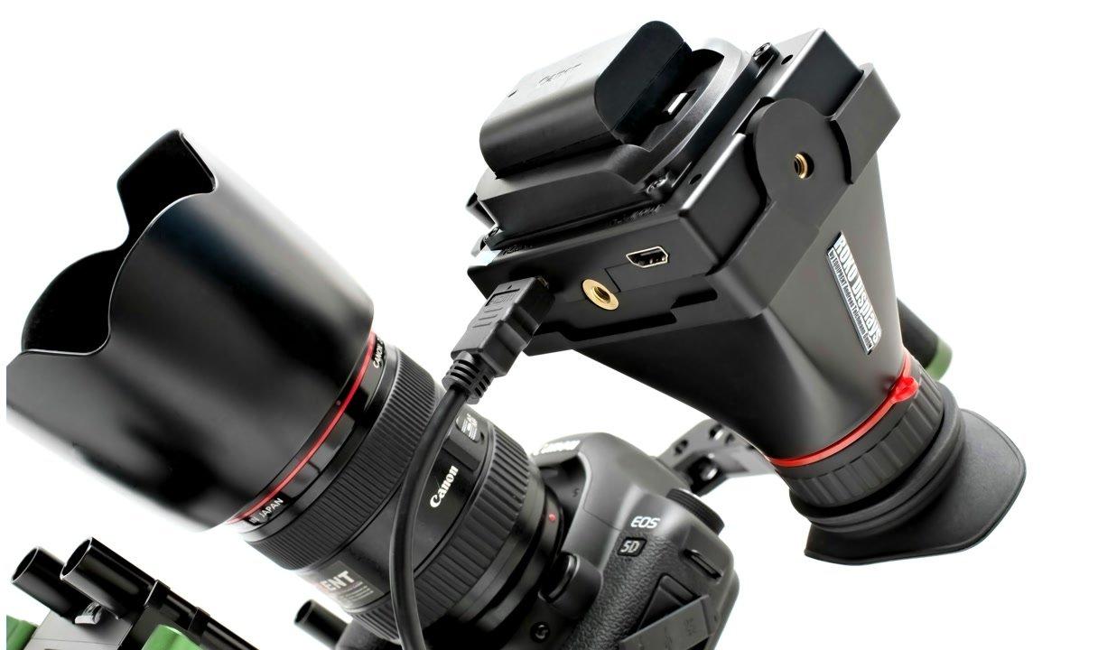 Lanparte Rig Canon 5D Mark II und ROKO HD35 EVF.