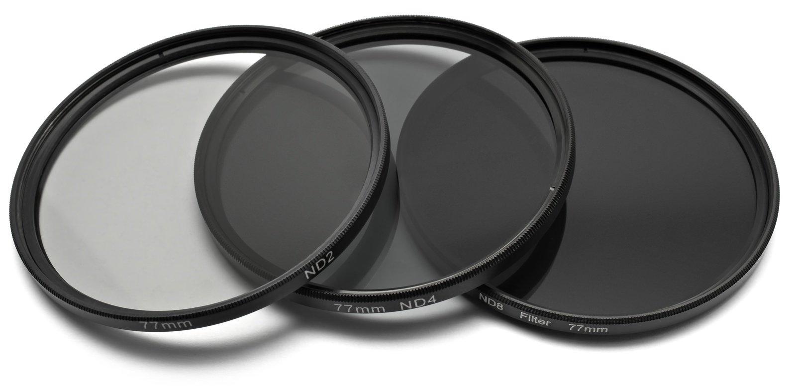 ROKO ND Filter Set für 77mm ND 0.3 / 0.6 / 0.9 bzw. ND 2 4 8.