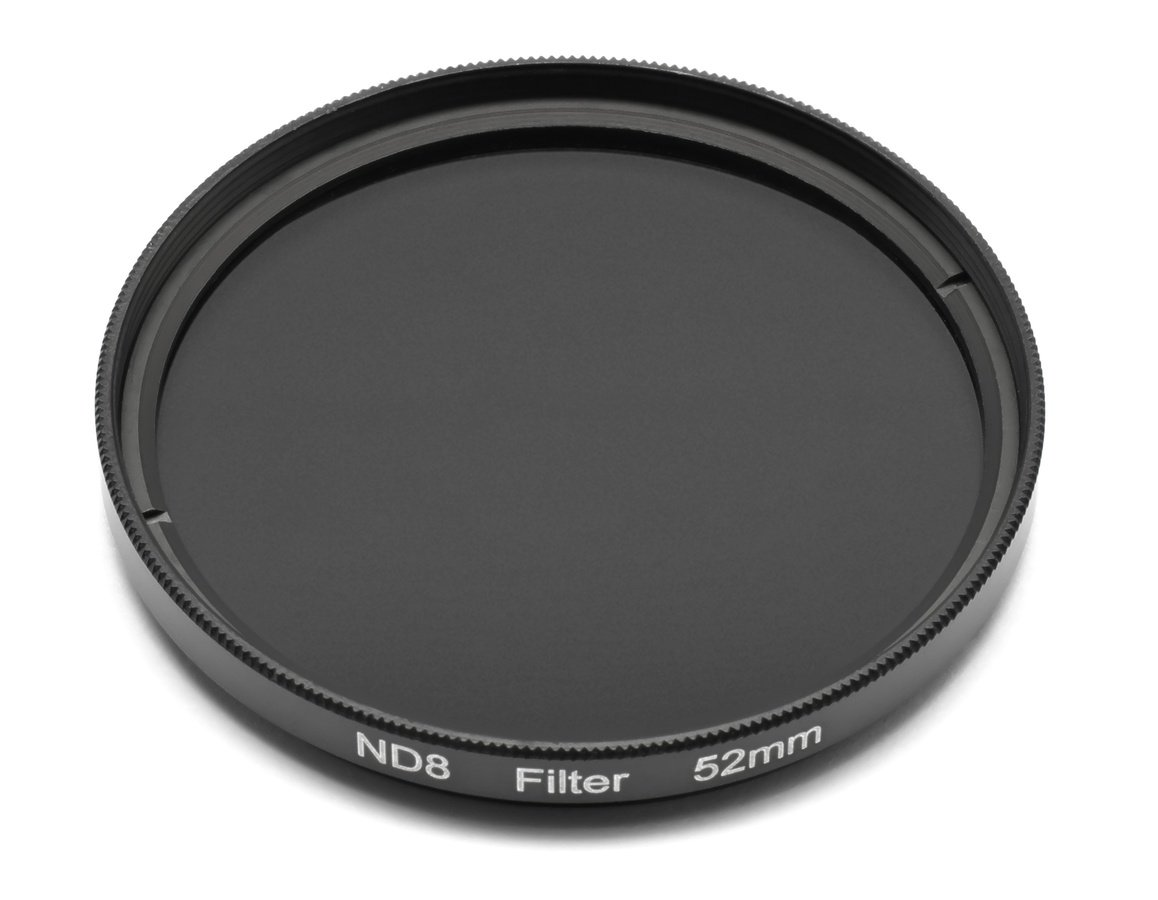 ROKO ND 0.9 Filter 52mm / ND8 / Neutral Density zum Einschrauben.