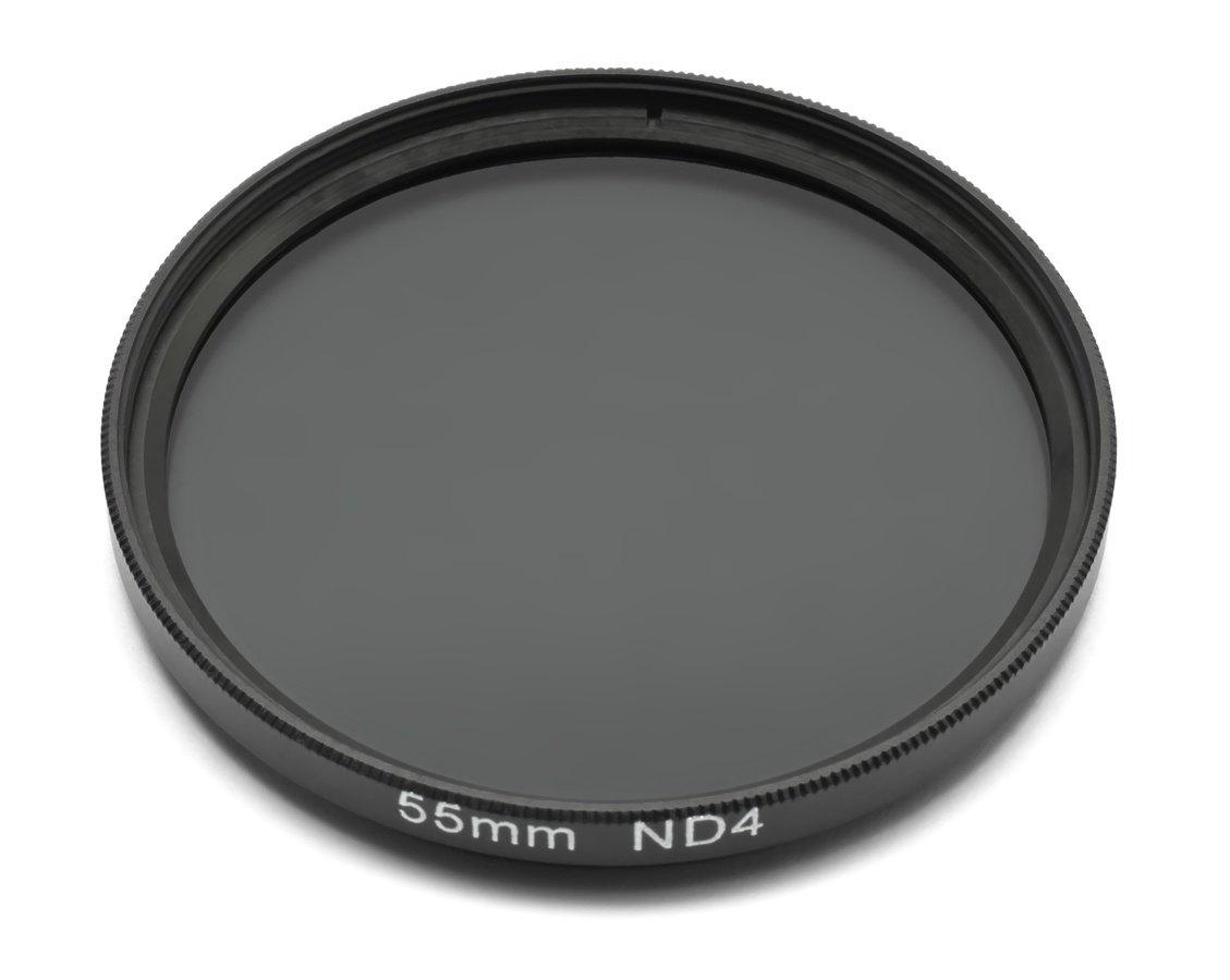 ROKO ND 0.6 Filter 55mm / ND4 / Neutral Density zum Einschrauben.