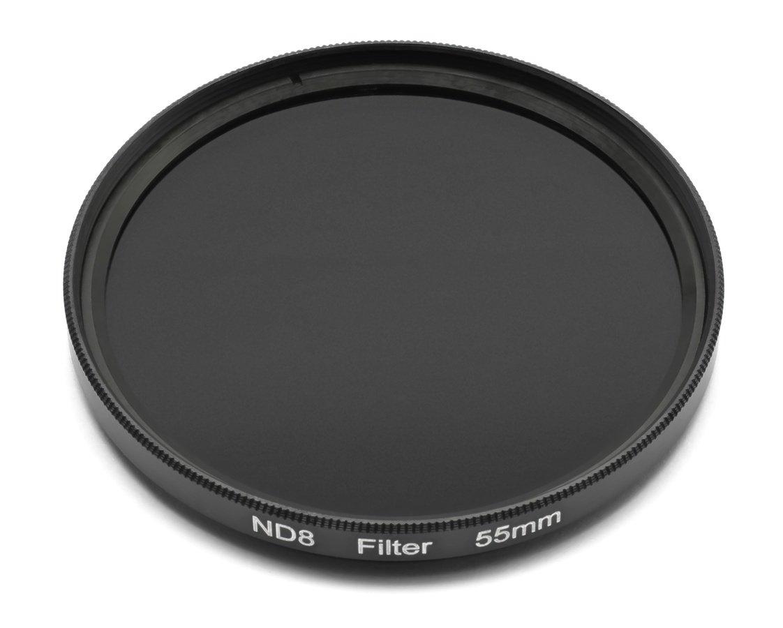 ROKO ND 0.9 Filter 55mm / ND8 / Neutral Density zum Einschrauben.