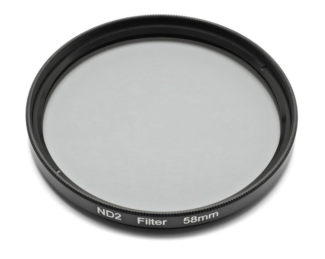 ROKO ND 0.3 Filter 58mm / ND2 / Neutral Density zum Einschrauben.