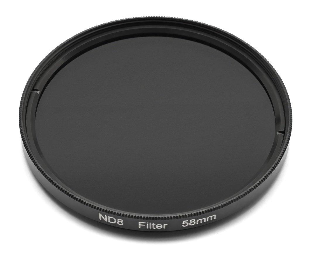 ROKO ND 0.9 Filter 58mm / ND8 / Neutral Density zum Einschrauben.