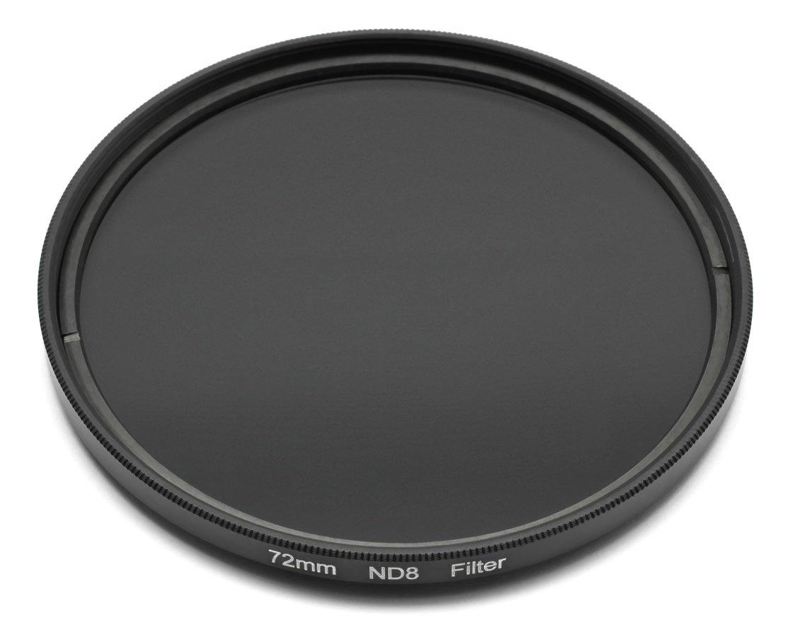 ROKO ND 0.9 Filter 72mm / ND8 / Neutral Density zum Einschrauben.