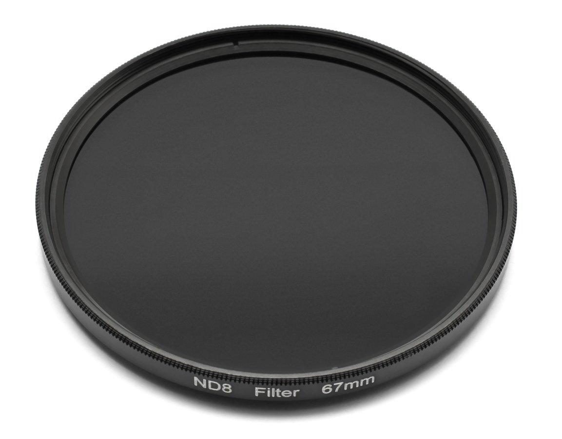 ROKO ND 0.9 Filter 67mm / ND8 / Neutral Density zum Einschrauben.