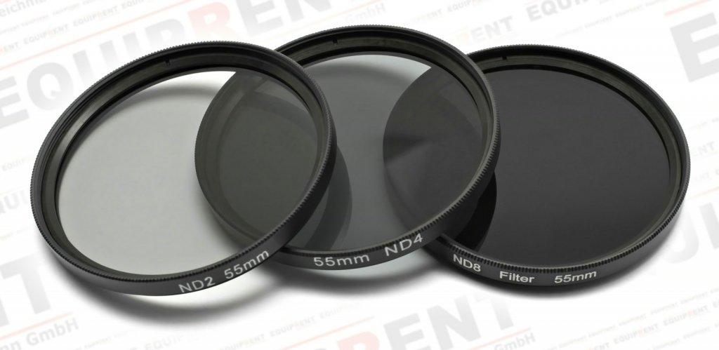 ROKO ND Filter Set für 55mm ND 0.3 / 0.6 / 0.9 bzw. ND 2 4 8.