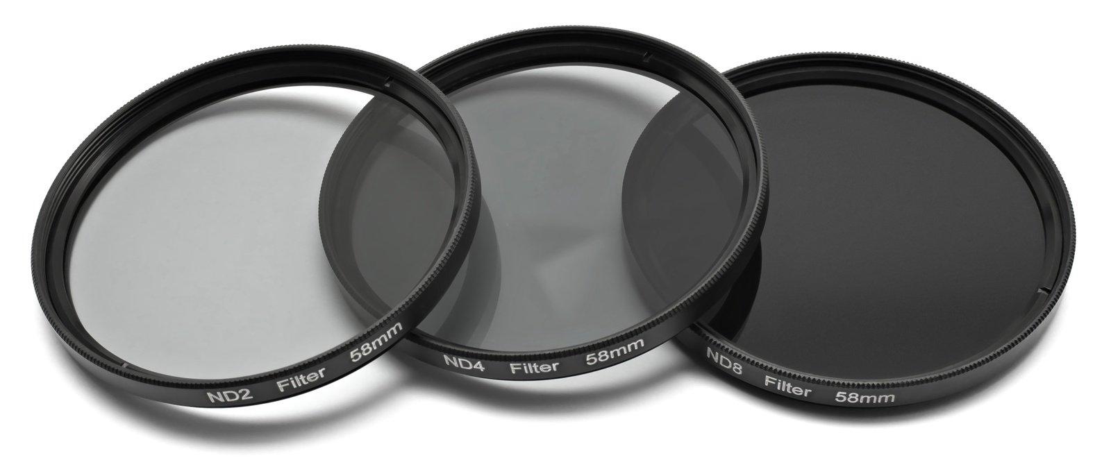 ROKO ND Filter Set für 58mm ND 0.3 / 0.6 / 0.9 bzw. ND 2 4 8.