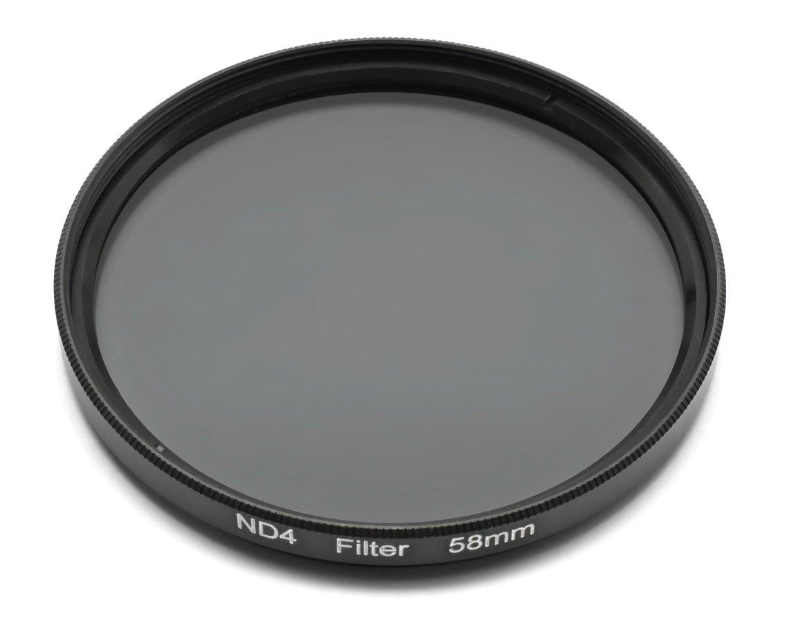 ROKO ND 0.6 Filter für 58mm Filtergewinde liegend.