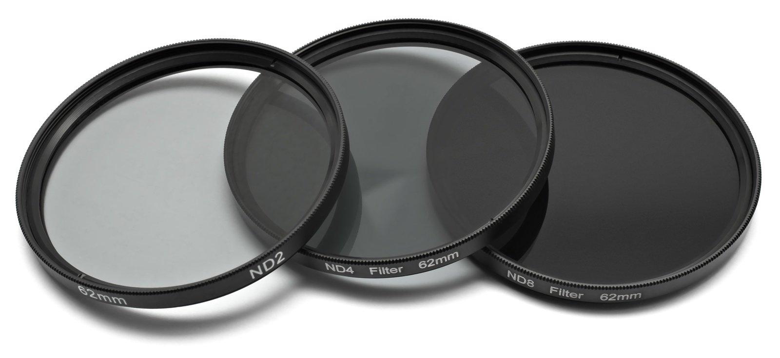 ROKO ND Filter Set für 62mm ND 0.3 / 0.6 / 0.9 bzw. ND 2 4 8.
