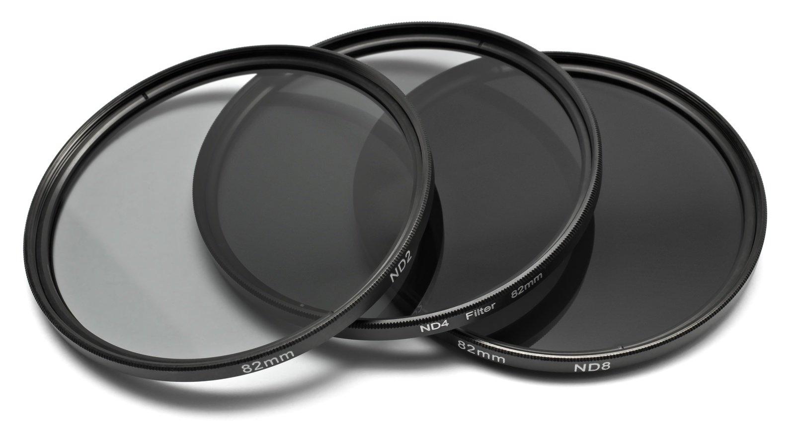 ROKO ND Filter Set für 82mm ND 0.3 / 0.6 / 0.9 bzw. ND 2 4 8.