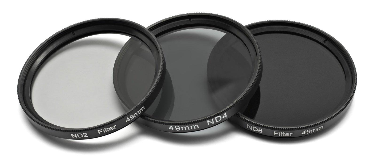 ROKO ND Filter Set für 49mm ND 0.3 / 0.6 / 0.9 bzw. ND 2 4 8.