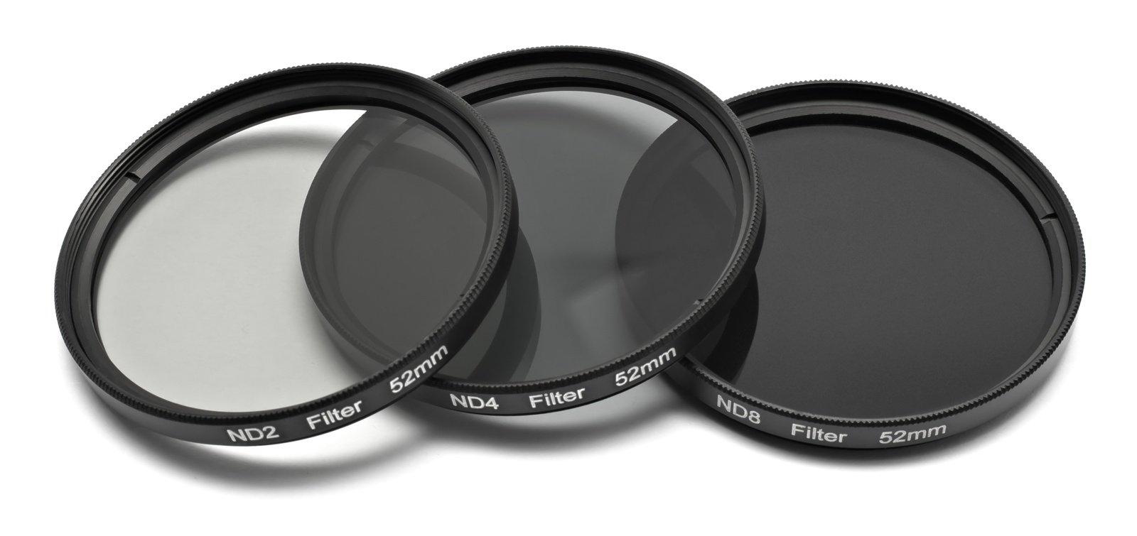 ROKO ND Filter Set für 52mm ND 0.3 / 0.6 / 0.9 bzw. ND 2 4 8.
