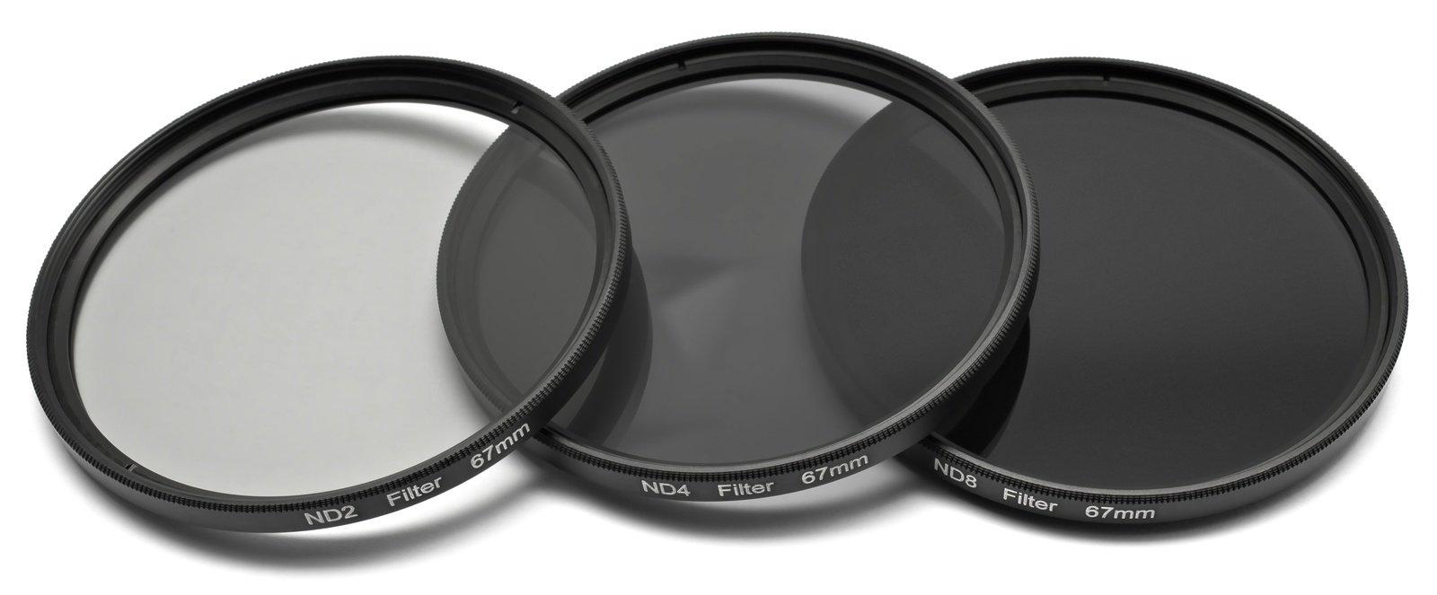 ROKO ND Filter Set für 67mm ND 0.3 / 0.6 / 0.9 bzw. ND 2 4 8.