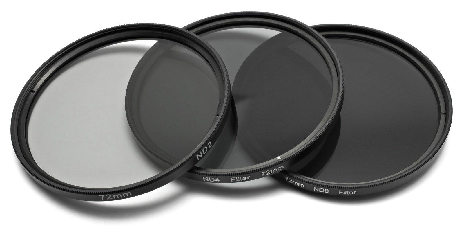 ROKO ND Filter Set für 72mm ND 0.3 / 0.6 / 0.9 bzw. ND 2 4 8.