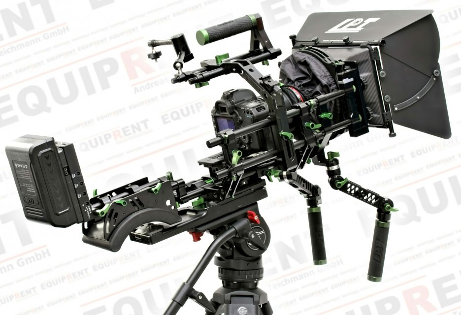 Lanparte PK-02 Professional Kit v2 - Heavy Duty DSLR Rig.