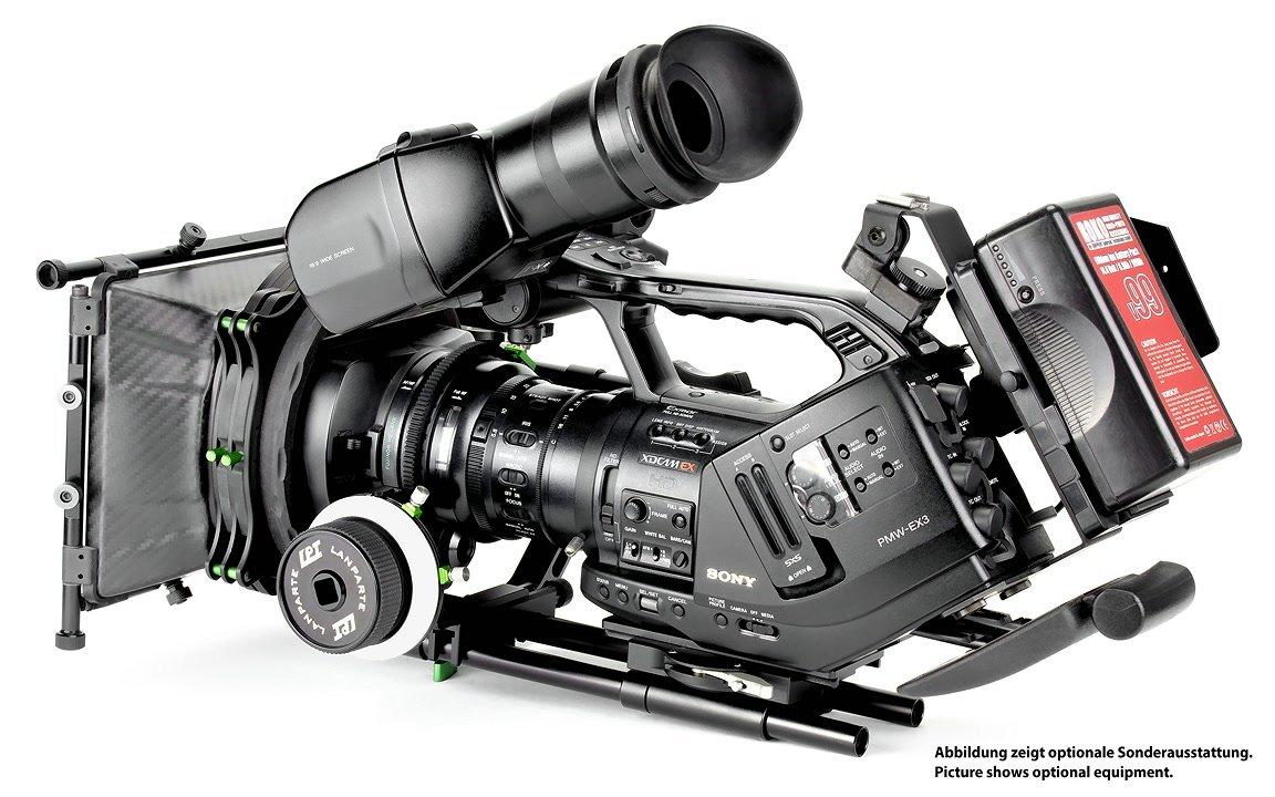 Lanparte Cinema EX Rig für Sony EX3.