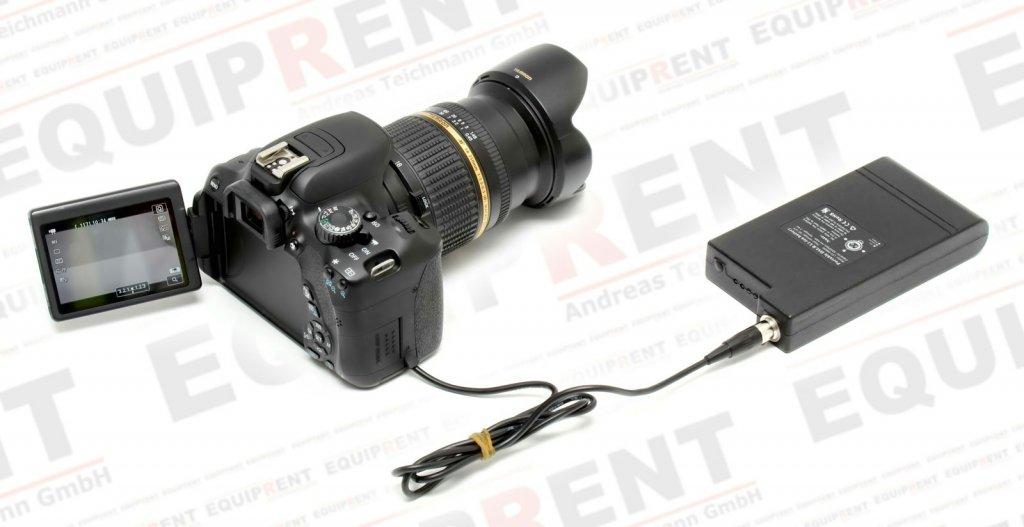 Lanparte PB-600-E8 Akkupack für Canon EOS DSLR mit LP-E8 (44.4Wh).