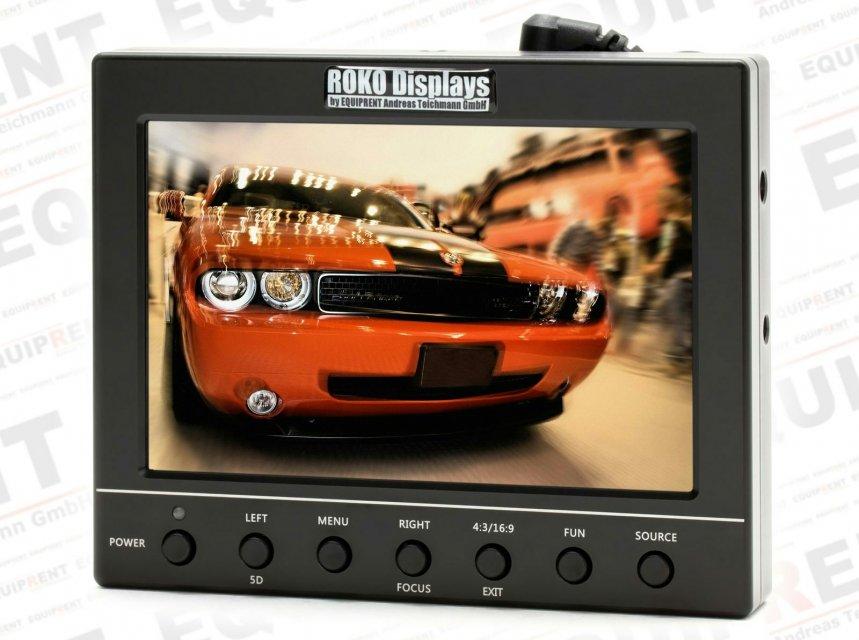 ROKO HD56 Metal Edition 14.2cm (5.6 Zoll) Monitor mit Metallgehäuse.