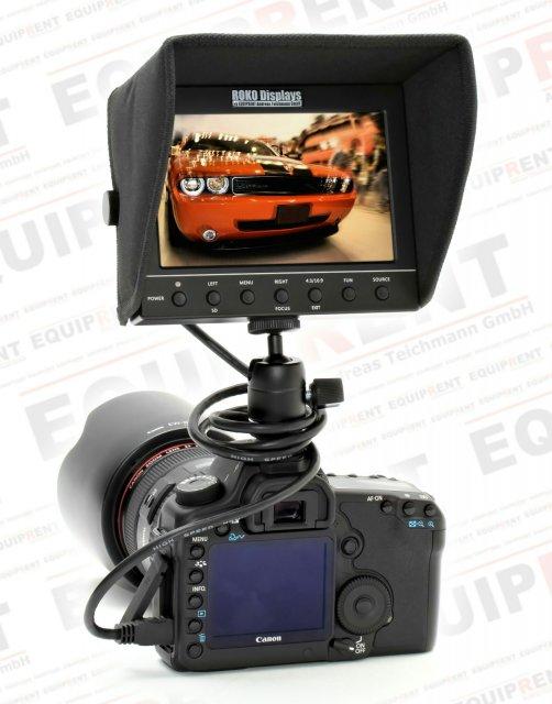 ROKO HD56 Metal Edition 14.2cm (5.6 Zoll) Monitor mit Metallgehäuse Foto Nr. 5