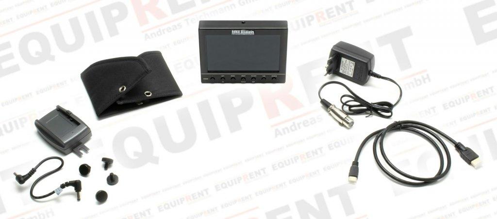 ROKO HD56 Metal Edition 14.2cm (5.6 Zoll) Monitor mit Metallgehäuse Foto Nr. 6