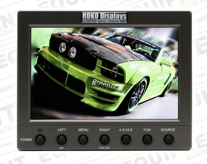 ROKO HD56 Pro 14.2cm (5.6 Zoll) leichter Monitor mit HD-SDI.