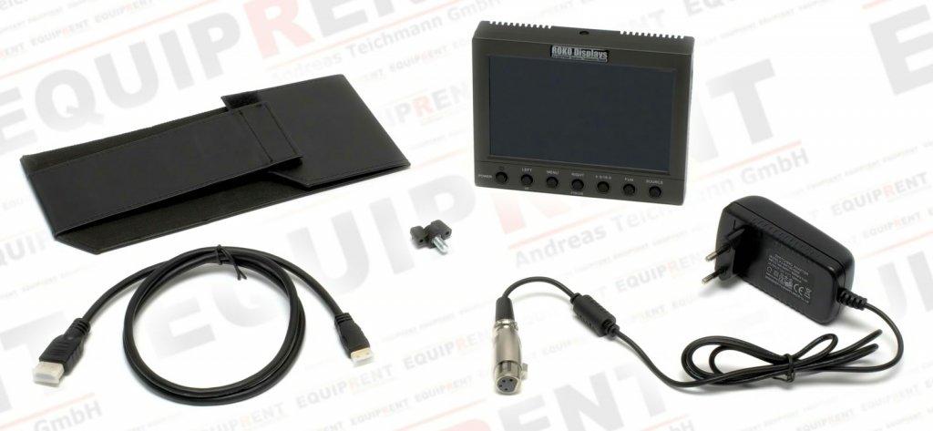 ROKO HD56 Pro 14.2cm (5.6 Zoll) leichter Monitor mit HD-SDI Foto Nr. 6