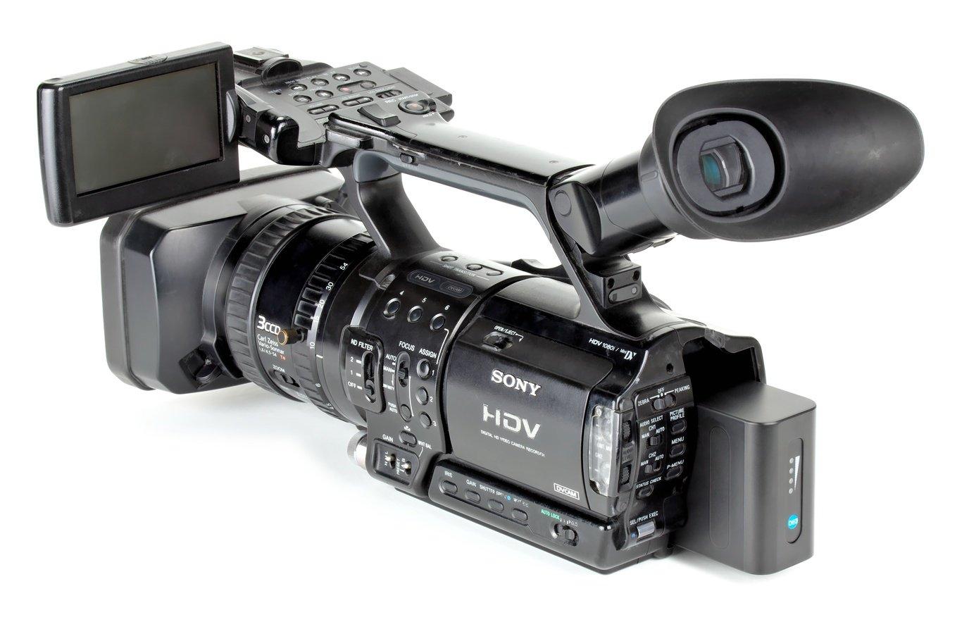 Sony Z1 mit großem NP-F Akku von Beillen.