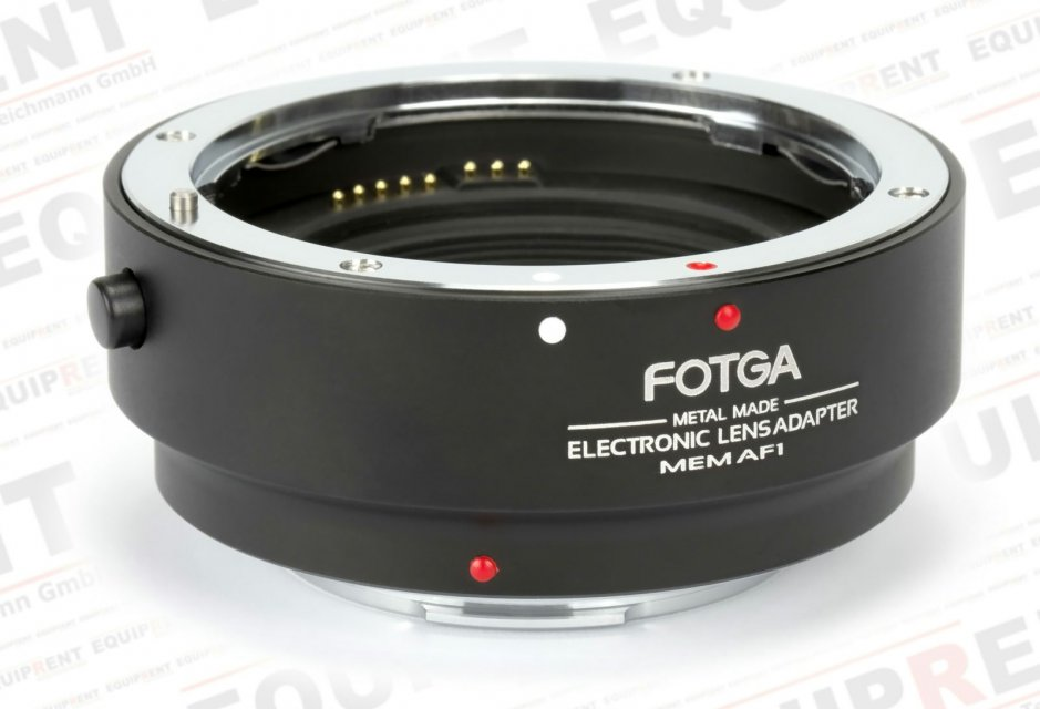 Fotga MEM AF1 elektronischer Objektivadapter Canon EF/EF-S zu EOS M Foto Nr. 3