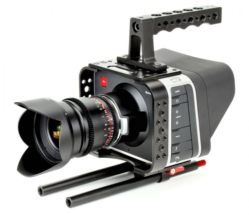 Sunrise HSR-611 BMCC Armor / Cage für Blackmagic Cinema Camera.