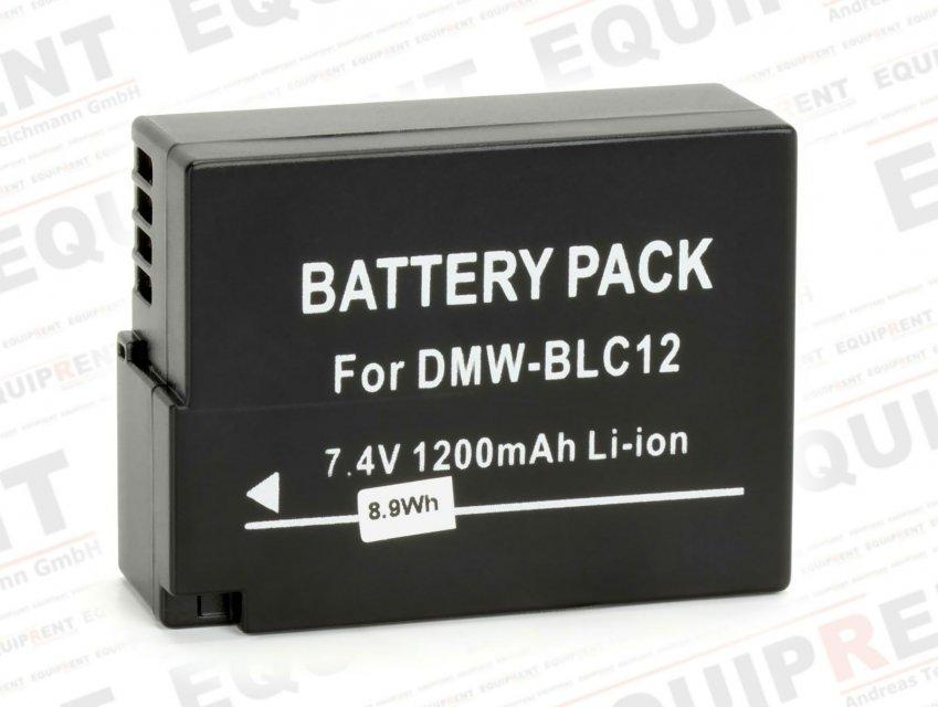 ROKO DMW-BLC12 für Panasonic GH2 mit 7.4V / 1200mAh / 8.9Wh Foto Nr. 1