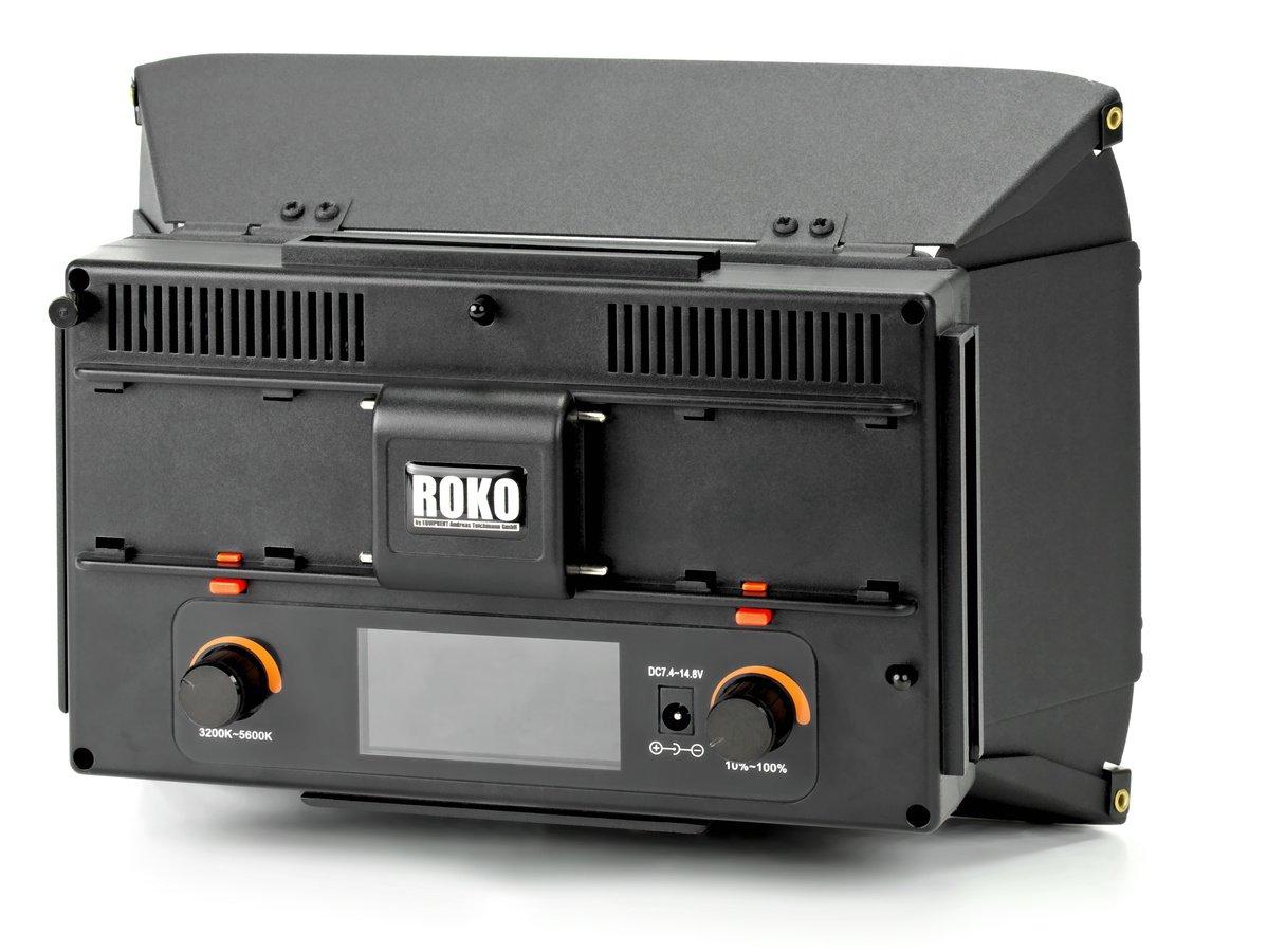 Rückseite ROKO LED312 Leuchte.